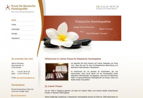 Firmenprofil von: Praxis für Klassische Homöopathie Sabine Schmelzer in Rösrath