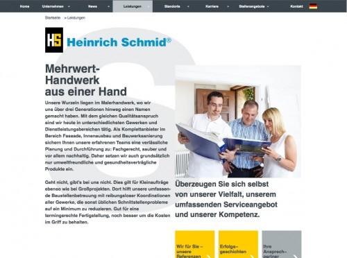 Firmenprofil von: Malerwerkstätten Heinrich Schmid GmbH & Co. KG in Stuttgart