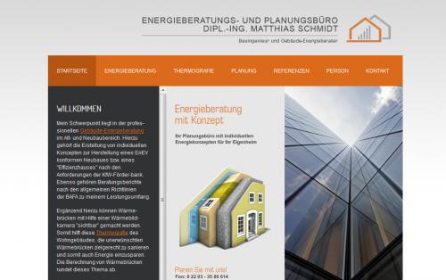 Firmenprofil von: Energieausweis in Bergisch-Gladbach: Dipl.-Ing. (FH) Matthias Schmidt