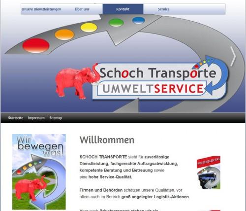 Firmenprofil von: Schoch Transporte aus Stuttgart