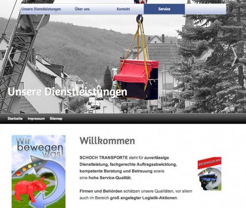 Firmenprofil von: Schoch Transporte in Stuttgart – Spezialist für Entrümplung und Auflösung