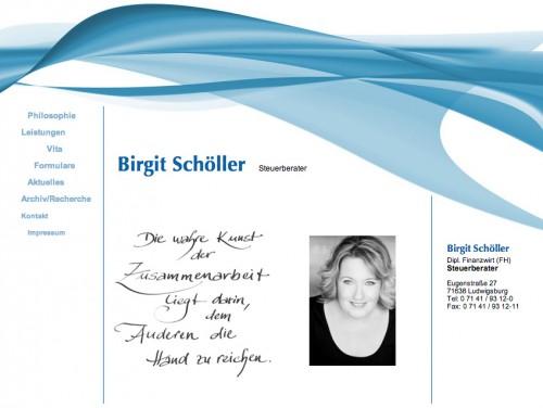 Firmenprofil von: Steuerkanzlei Schöller in Ludwigsburg