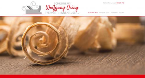 Firmenprofil von: Ihre Schreinerei Wolfgang Oeing in Bad Sassendorf