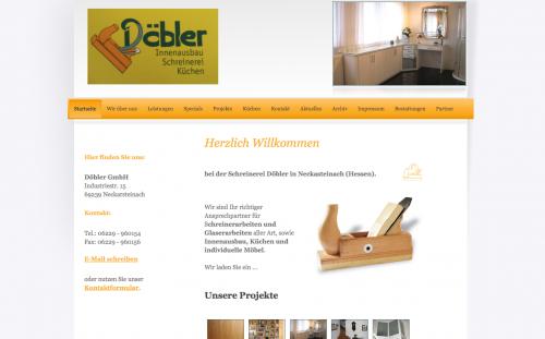 Firmenprofil von: Erfahrene Schreinerei in Neckarsteinach bei Heidelberg Döbler GmbH