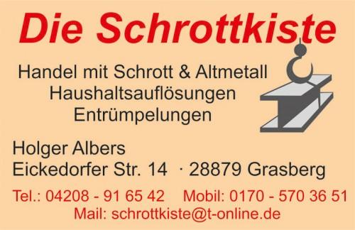Firmenprofil von: Entrümpelung in Bremen: Dienstleistungen Albers in Grasberg
