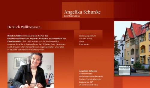 Firmenprofil von: Angelika Schunke: Rechtsanwältin für Familienrecht in Braunschweig