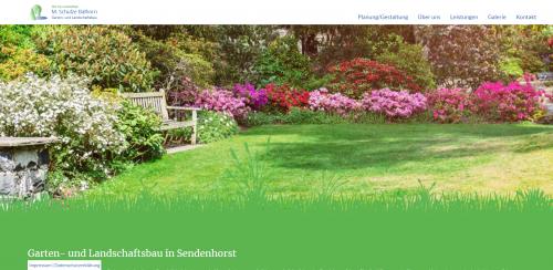 Firmenprofil von: Ihr Partner für einen gepflegten Garten: Garten- und Landschaftsbau M. Schulze Balhorn