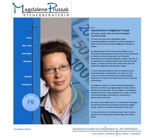 Firmenprofil von: Steuerberaterin Magdalene Pussak in Mülheim: Tadellose Finanzbuchhaltung