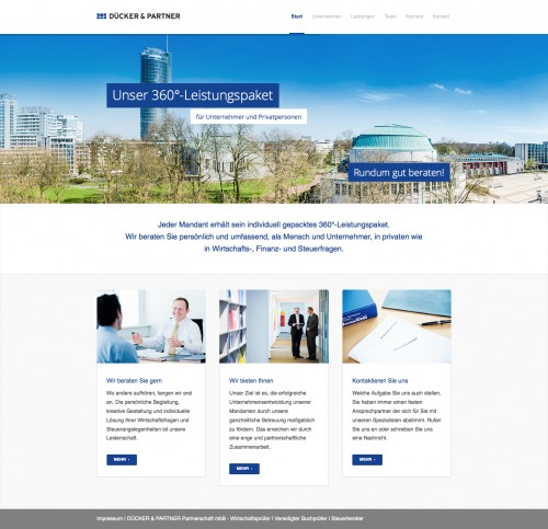 Firmenprofil von: Unternehmensberatung in Essen: Dücker & Partner Partnerschaft mbB