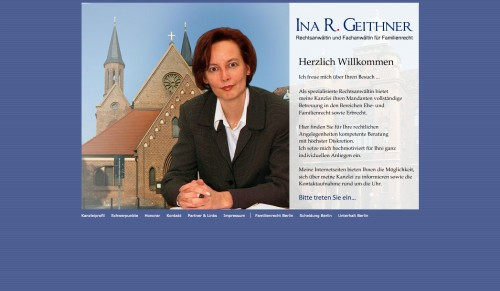 Firmenprofil von: Scheidungsvereinbarung in Berlin: Rechtsanwältin und Fachanwältin Geithner
