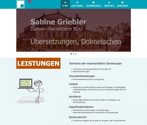 Firmenprofil von: Übersetzungen in Dresden: Sabine Griebler