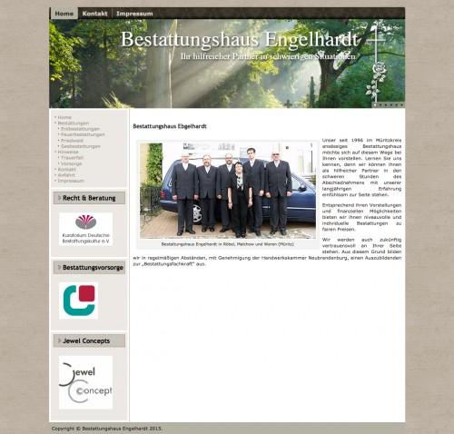 Firmenprofil von: Bestatter in Waren: Bestattungshaus Engelhardt