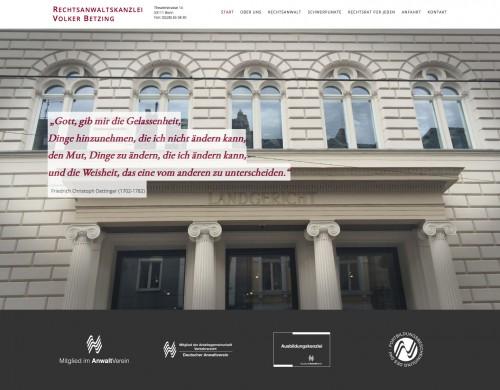 Firmenprofil von: Rechtsanwalt für Erbrecht in Bonn: Anwaltskanzlei Volker Betzing