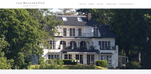 Firmenprofil von: Ihr Partner beim Immobilienverkauf in München: von Morenhoffen Immobilien