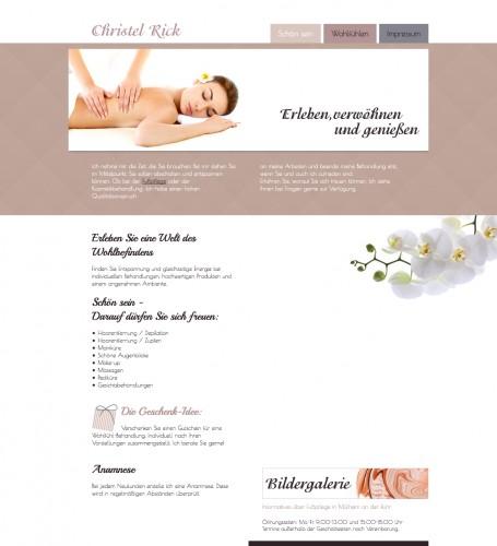 Firmenprofil von: Kosmetik und Fußpflegestudio Rick in Mülheim an der Ruhr