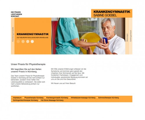 Firmenprofil von: Praxis für Physiotherapie in Nürnberg: Physiotherapie Sabine Goebel