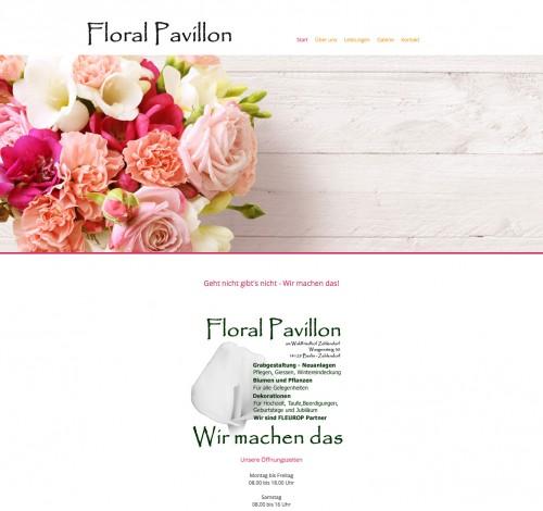Firmenprofil von: Floral Pavillon in Berlin bietet kompetente Floristik