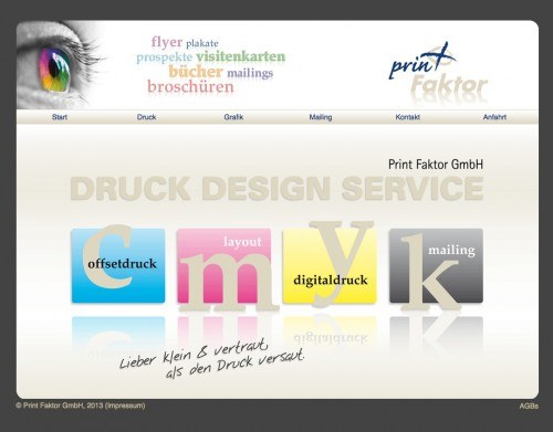 Firmenprofil von: Druckerei in Bonn: Print Faktor GmbH