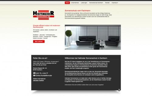Firmenprofil von: Heitmeier Ltd.: Sonnenschutz in Eschborn