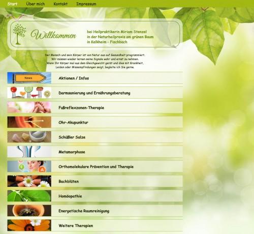 Firmenprofil von: Naturheilpraxis am grünen Baum in Kelkheim: Heilpraktikerin und zertifizierte Fachberaterin für Darmgesundheit
