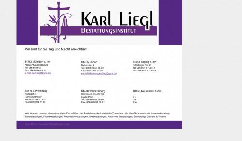 Firmenprofil von: Bestattungsinstitut Liegl in Mühldorf am Inn