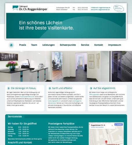 Firmenprofil von: Zahnarztpraxis in Düsseldorf: Zahnarzt Dr. Christoph Roggenkämper
