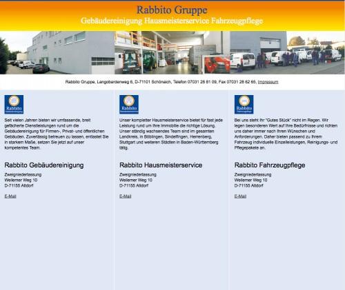 Firmenprofil von: Rabbito Gruppe in Altdorf