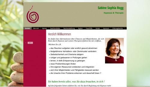 Firmenprofil von: Heilpraktiker in Lübeck: Sabine Sophia Rogg Hypnose & Therapie