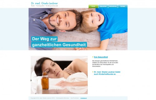 Firmenprofil von: Dr. med. Gisela Leubner aus Puchheim