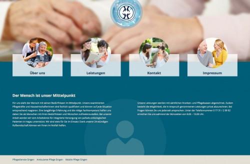 Firmenprofil von: Mobile Pflege in Singen: Sozialpflegerischer Dienst e. V.
