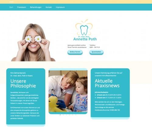 Firmenprofil von: Zahnärztin Dr. Poth in Essen – Prophylaxe für langanhaltend schöne Zähne