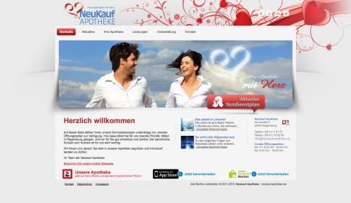 Firmenprofil von: Neukauf Apotheke Vent in Regensburg