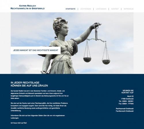 Firmenprofil von: Rechtsanwaltskanzlei Katrin Redlich in Greifswald