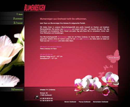 Firmenprofil von: Floristikfachgeschäft Blumenreigen in Greifswald