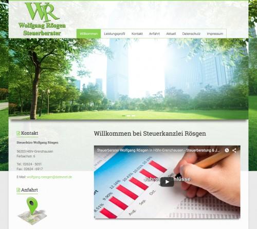 Firmenprofil von: Steuerberater in Koblenz: Steuerbüro Wolfgang Rösgen
