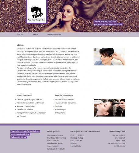 Firmenprofil von: Top Haardesign Hein in Lünen: moderne Frisurenmode