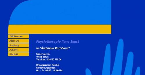 Firmenprofil von: Physiotherapie in Berlin-Karlshorst: Physiotherapie Ilona Senst