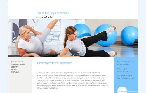 Firmenprofil von: Praxis für Physiotherapie Annegret Müller in Münster