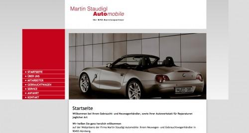 Firmenprofil von: Autoreparatur in Nürnberg: Martin Staudigl Automobile