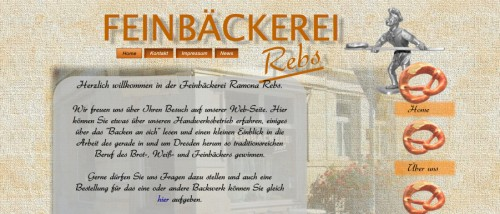 Firmenprofil von: Bäckerei in Dresden: Feinbäckerei Rebs