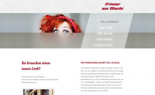 Firmenprofil von: Erfahrener Friseursalon in Suhl: Friseur am Markt
