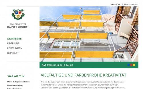 Firmenprofil von: Malermeister Rainer Grübel in Putbus