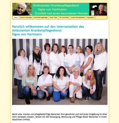 Firmenprofil von: Ambulanter Pflegedienst Singe von Hartmann in Schwelm