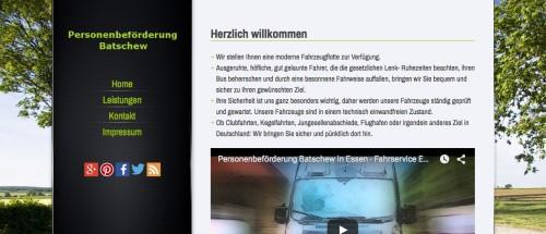 Firmenprofil von: Personenbeförderung Batschew in Essen: Zuverlässiger Flughafentransfer