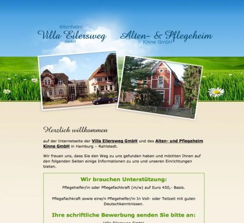 Firmenprofil von: Altenheim in Hamburg: Privat-, Alten- und Pflegeheim Kinne GmbH