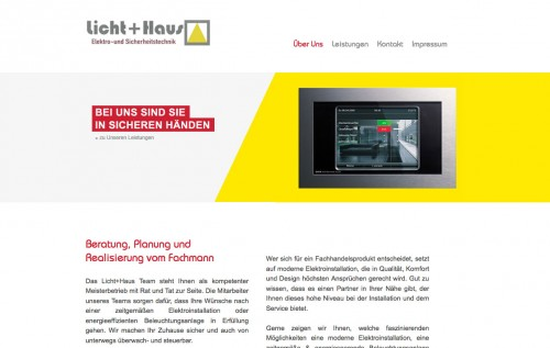 Firmenprofil von: Sicherheitstechnik fürs Eigenheim: Licht+Haus GmbH aus Köln