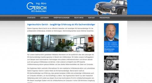 Firmenprofil von: Ingenieurbüro Gerich in Wettenberg