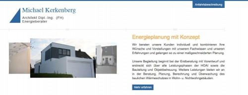 Firmenprofil von: Kompetente Energieberatung für den Großraum Koblenz: Architekturbüro Michael Kerkenberg Dipl.-Ing. (FH) in Betzdorf