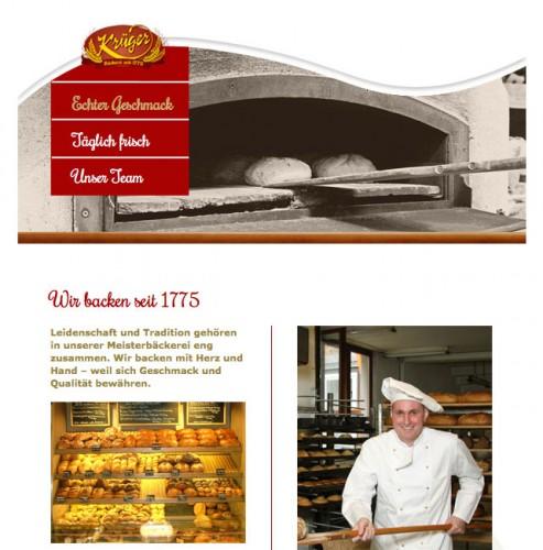 Firmenprofil von: Bäckerei Krüger in Suhl