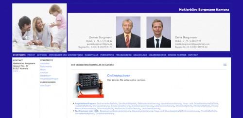 Firmenprofil von: Maklerbüro Borgmann in Kamenz